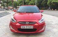 Bán Hyundai Accent 1.4 AT đời 2014, màu đỏ, nhập khẩu nguyên chiếc chính hãng giá 460 triệu tại Hà Nội