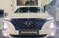 Cần bán chiếc Hyundai SantaFe 2.2L bản máy dầu cao cấp, đời 2019, màu trắng giá 1 tỷ 245 tr tại Tp.HCM