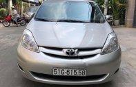 Bán Toyota Sienna 2008, màu bạc, nhập khẩu nguyên chiếc chính hãng giá 600 triệu tại Tp.HCM