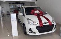 Giao xe miễn phí toàn quốc - Hyundai Grand i10 1.2AT đời 2019, màu trắng giá 405 triệu tại Tp.HCM