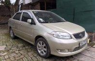 Bán Toyota Vios G sản xuất 2003, màu vàng số sàn giá cạnh tranh giá 170 triệu tại Hà Nội