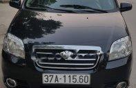 Cần bán gấp Daewoo Gentra SX 1.5 MT đời 2008, màu đen số sàn, 145tr giá 145 triệu tại Nghệ An
