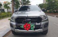 Cần bán Ford Ranger Wildtrak 2.0 Bi Turbo sản xuất 2018, màu bạc, nhập khẩu nguyên chiếc số tự động giá 835 triệu tại Hà Nội