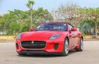 Bán giảm giá cuối năm chiếc xe Jaguar F-Type Convertible R 5.0L, đời 2017, màu đỏ, nhập khẩu nguyên chiếc giá 12 tỷ 800 tr tại Hà Nội