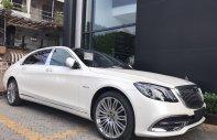 Xe nhập khẩu 100% từ Đức - Mercedes-Benz Maybach S450 sản xuất năm 2019, màu trắng giá 7 tỷ 369 tr tại Tp.HCM