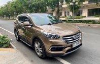 Bán Hyundai Santa Fe 2.2L 4WD năm 2018, màu nâu giá 1 tỷ 115 tr tại Hà Nội