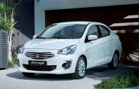 Bán nhanh đón tết chiếc xe Mitsubishi Attrage 1.2 AT, sản xuất 2019, màu trắng, nhập khẩu giá 475 triệu tại Tp.HCM