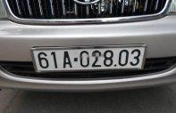 Cần bán xe Toyota Zace GL 2005, màu bạc, nhập khẩu nguyên chiếc chính chủ giá 298 triệu tại Bình Dương