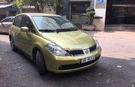 Cần bán gấp Nissan Tiida đời 2007, màu vàng, nhập khẩu chính chủ, giá tốt giá 250 triệu tại Hà Nội