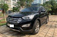 Xe Hyundai Santa Fe 2.4L năm sản xuất 2013, màu đen, nhập khẩu nguyên chiếc, giá tốt giá 745 triệu tại Hà Nội