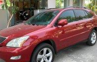 Xe Lexus RX 350 sản xuất năm 2006, màu đỏ, nhập khẩu chính chủ giá 720 triệu tại Tp.HCM