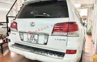 Bán Lexus LX 570 đời 2012, màu trắng, nhập khẩu giá 3 tỷ 780 tr tại Hà Nội