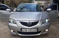 Cần bán xe Mazda 3 1.6 MT đời 2005, màu bạc còn mới giá 245 triệu tại Đà Nẵng