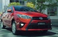 Cần bán lại xe Toyota Yaris AT sản xuất 2015, màu đỏ, nhập khẩu giá 484 triệu tại Đà Nẵng