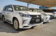 Bán Lexus LX 570 MBS năm sản xuất 2020, màu trắng, nhập khẩu Trung Đông giá 10 tỷ 300 tr tại Hà Nội