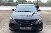 Bán xe Toyota Camry sản xuất 2005, màu đen, nhập khẩu giá 380 triệu tại Hà Nội
