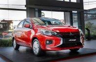 Bán Mitsubishi Attrage 1.2 CVT năm sản xuất 2020, màu đỏ, xe mới nhập giá 460 triệu tại Hà Nội