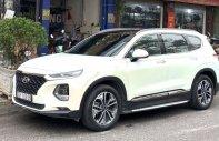 Cần bán xe Hyundai Santa Fe năm 2019, màu trắng, xe như mới giá 1 tỷ 155 tr tại Hà Nội