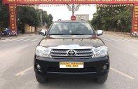 Cần bán Toyota Fortuner 2.5G đời 2011, màu đen, số tay giá 595 triệu tại Hà Nội