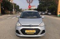 Bán xe Hyundai Grand i10 đời 2017, màu bạc, xe cũ chính hãng giá 325 triệu tại Hà Nội