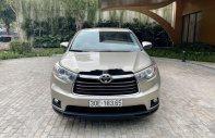 Bán Toyota Highlander năm sản xuất 2015, màu vàng, nhập khẩu giá 1 tỷ 550 tr tại Hà Nội