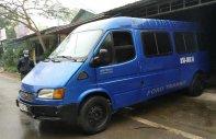 Cần bán lại xe Ford Transit năm sản xuất 2002, màu xanh lam, 6 chỗ ngồi giá 60 triệu tại Phú Thọ