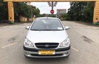 Bán Hyundai Getz 1.1MT sản xuất 2009, màu bạc, nhập khẩu giá 215 triệu tại Hà Nội