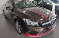 Cần bán xe Mercedes CLA200 sản xuất 2017, màu nâu mới 99% giá 1 tỷ 329 tr tại Tp.HCM