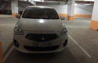 Bán Mitsubishi Attrage đời 2018, màu trắng, nhập khẩu nguyên chiếc chính chủ giá 395 triệu tại Hà Nội