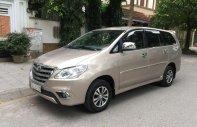 Cần bán Toyota Innova 2014, màu vàng cát, xe gia đình giá 385 triệu tại Hà Nội