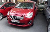 Bán Mitsubishi Attrage đời 2018, màu đỏ, nhập khẩu   giá 375 triệu tại Tp.HCM