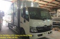 Xe tải Hino 3.5T thùng kín bửng nâng 5m2 giá 646 triệu tại BR-Vũng Tàu