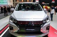 Cần bán xe Mitsubishi Attrage AT 2020, màu trắng, nhập khẩu nguyên chiếc giá 460 triệu tại Nghệ An