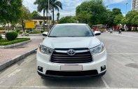 Bán Toyota Highlander LE 2014, màu trắng, nhập khẩu giá 1 tỷ 380 tr tại Hà Nội