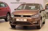 Volkswagen Polo Hatchback Nâu hổ phách 2020 nhập khẩu nguyên chiếc!! giá 695 triệu tại Quảng Ninh