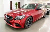 Bán Mercedes C300 AMG 2020 màu đỏ siêu lướt giá cực tốt - xe cũ chính hãng giá 1 tỷ 760 tr tại Hà Nội