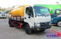 Xe hút chất thải Hino 4 khối, tải trọng 4T2 giá 400 triệu tại Tp.HCM
