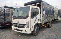 Xe tải Nissan thùng mui bạc tải 3T5 Thùng 4.3 mét. Hỗ trở trả góp 80% giá 440 triệu tại Bình Dương