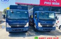 Cần bán gấp xe tải 3tấn5 thùng mui bạc 4m3, đưa trước 50tr góp tiếp ngân hàng giá 50 triệu tại Bình Dương
