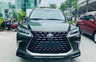 Bán Lexus LX570 Super Sport màu xanh bộ đội cực đẹp, sản xuất 2021, xe có sẵn giao ngay giá 9 tỷ 100 tr tại Hà Nội