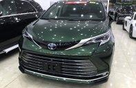 Bán ô tô Toyota Sienna Platinum 2021, màu xanh, nhập khẩu nguyên chiếc giá 4 tỷ 190 tr tại Hà Nội