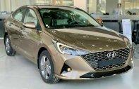 Bán Hyundai Accent 1.4 AT sản xuất 2021, màu vàng, giá 495tr giá 495 triệu tại Tp.HCM