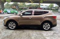 Cần bán lại xe Hyundai Santa Fe năm 2015, màu nâu giá 800 triệu tại Hà Nội