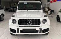 Bán Mercedes G63 AMG màu Trắng, nội thất đỏ, sản xuất 2021, mới 100%, xe giao ngay. giá 12 tỷ 600 tr tại Hà Nội
