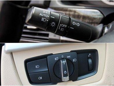 Nhiệm vụ của các nút điều khiển trên ô tô