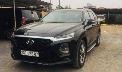 Cần bán lại xe Hyundai Santa Fe năm 2019, màu đen